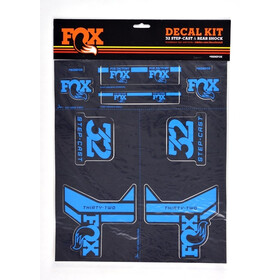 Fox Racing Shox AM Step-Cast Decal Kit blue